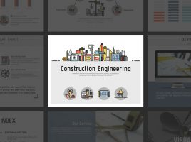 Construction Engineering Animated PPT