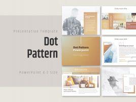 Dot Pattern PowerPoint Template