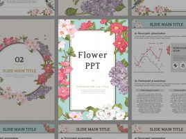 Flower PPT Vertical