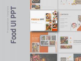 음식 UI 피피티