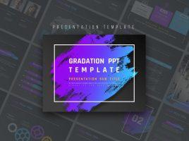 Gradation PPT Template