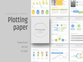 Grid PowerPoint Vertical Template