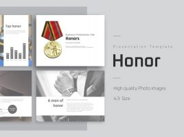 Honor PowerPoint Template