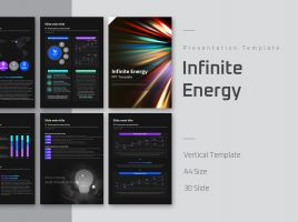 Infinite Energy PPT Template Vertical