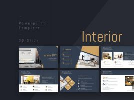 Interior PPT Template Wide