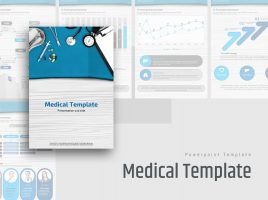 Medical PowerPoint Vertical Template