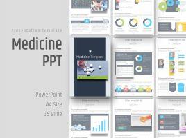 Medicine PPT Vertical Template