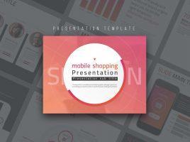 Mobile Shopping Presentation Template
