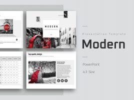 Modern Theme PowerPoint Template