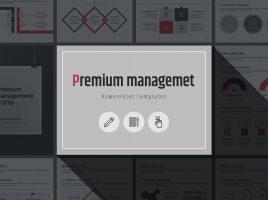 Premium Powerpoint Template Vertical
