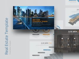 Real Estate Presentation Template Wide