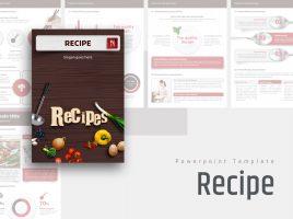 Recipe Vertical Design Template