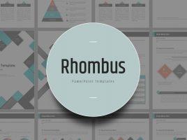 Rhombus Template Vertical