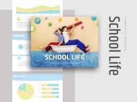 School Life PPT Template