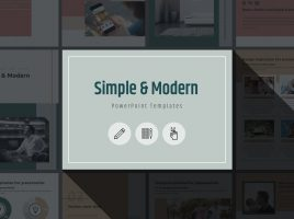Simple & Modern PPT Vertical