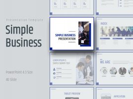 Simple Business Presentation