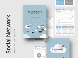 Social Network PPT Vertical