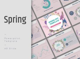 Spring PPT Template