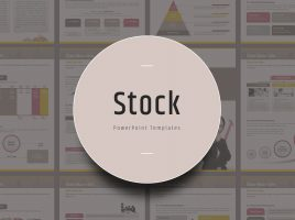 Stock PPT Template Vertical