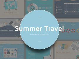 Summer Travel PPT Template