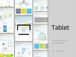 Tablet Template Vertical