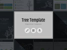 Tree PowerPoint Vertical