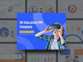 VR Education PPT Template