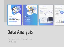 Data Analysis Presentation Template Vertical