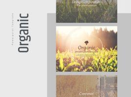 Organic Animated Presentation Template