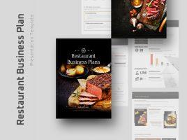 Restaurant Business Plan Template Strategy Vertical