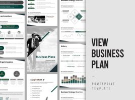 View Business Plan Template Strategy Vertical