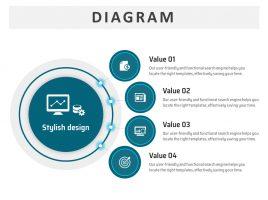 Circular Diverging Diagram 15