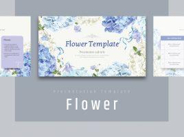 꽃 와이드 템플릿
