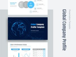 Global Company Profile Template
