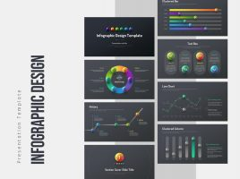 Infographic Design Template Wide