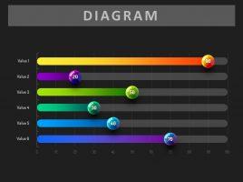 인포그래픽 가로 그래프 2