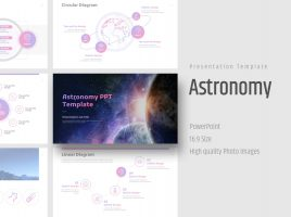 Astronomy PPT Template Wide