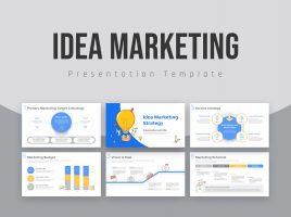 아이디어 마케팅 기획서 템플릿