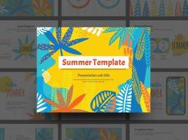 여름 템플릿