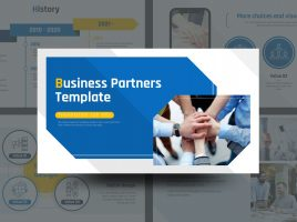 Business Partners Animated Template