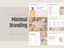 Minimal Branding Template