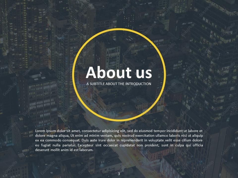 company profile ppt  u2013 goodpello