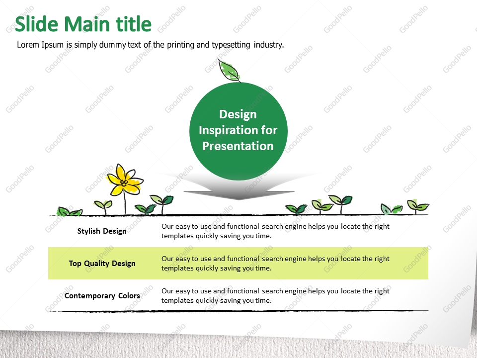 environmental protection plan template - environmental protection ppt goodpello