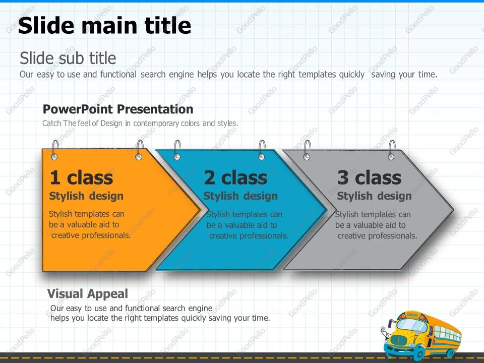 School bus powerpoint template goodpello toneelgroepblik Images