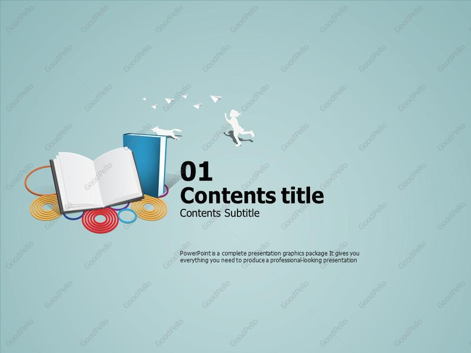 Children's Book PowerPoint Template | Goodpello