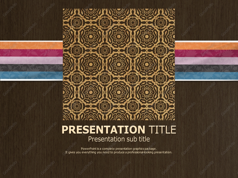 oriental powerpoint template image collections template
