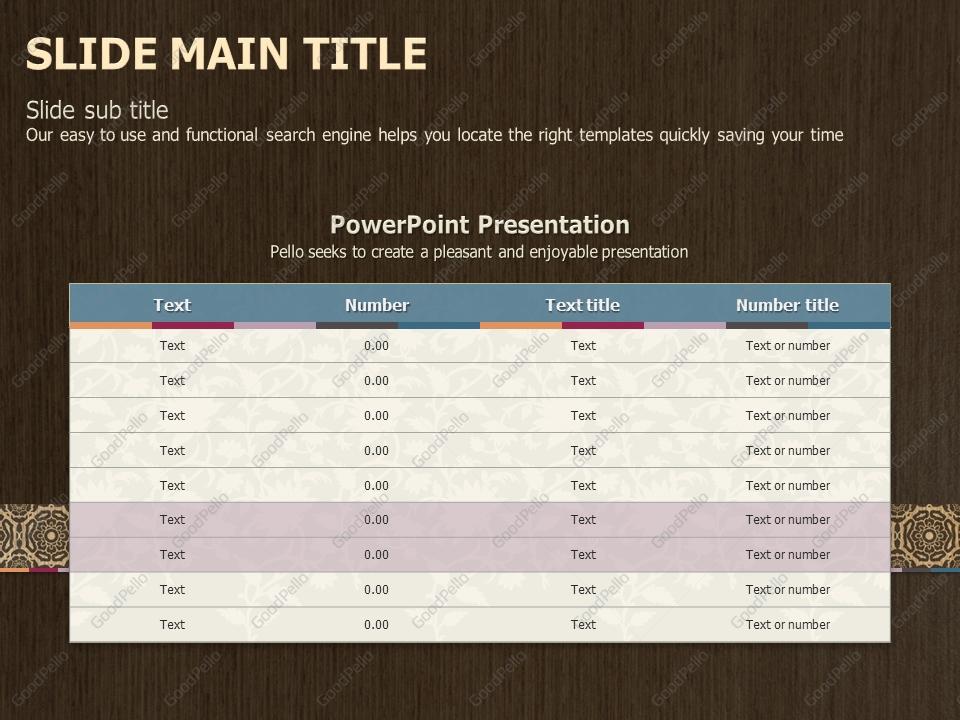 oriental powerpoint template goodpello