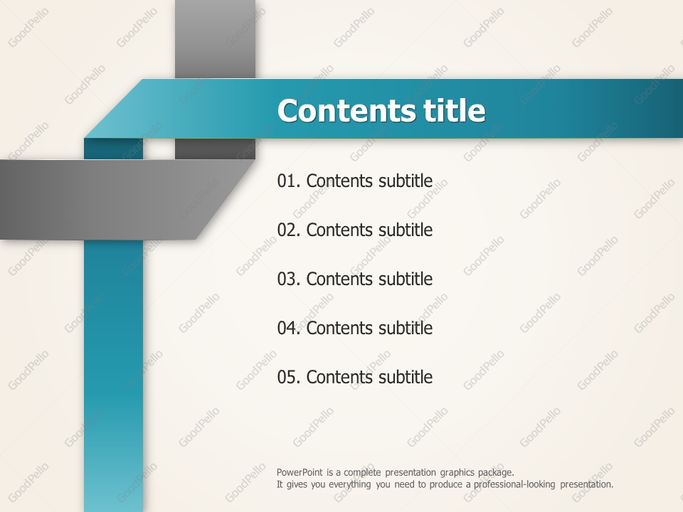 solid theme ppt template