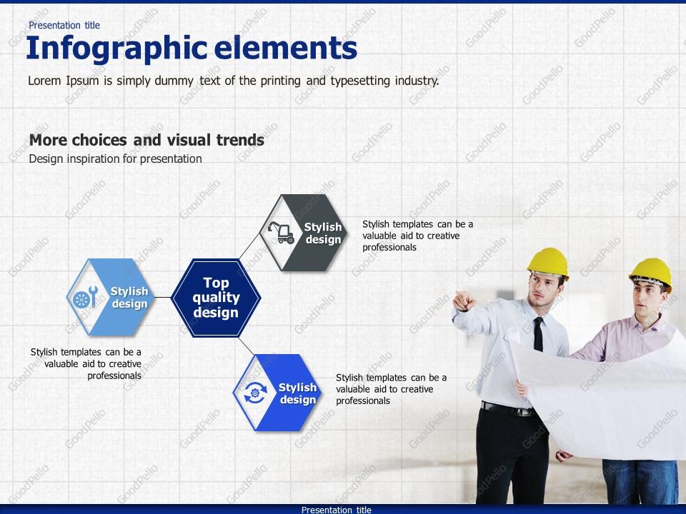 Blueprint powerpoint template goodpello malvernweather Image collections