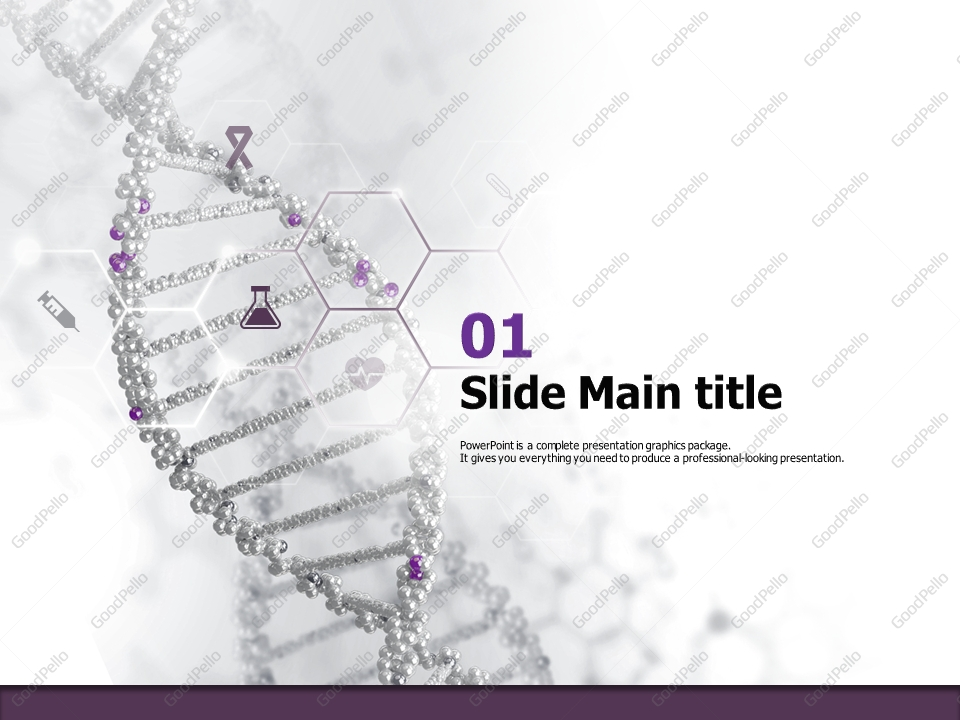 DNA PowerPoint Template | Goodpello